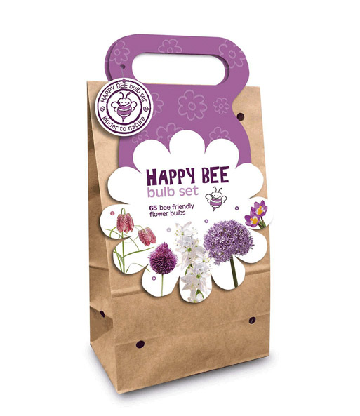 Blumenzwiebel-Kollektion Happy Bee 'Flieder'