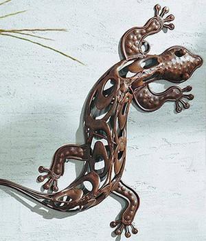 Metallfiguren jetzt online kaufen bei baldur garten - Wanddeko eidechse ...