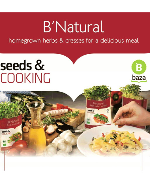 Seeds & Cooking BIO-Basilikum Kresse