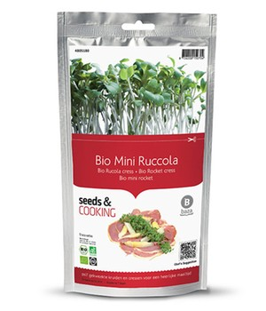 Seeds & Cooking BIO-Rucola Kresse